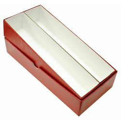 Kyпить 2x2 Coin Flips 10 Inch Red Box Quality Collectors Storage Case Double Row US на еВаy.соm
