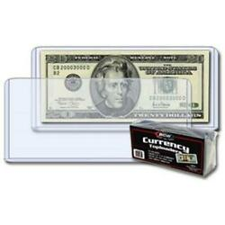 Kyпить 25 Banknotes Rigid Sleeves For Modern Size US Currency Notes BCW Topload Holders на еВаy.соm
