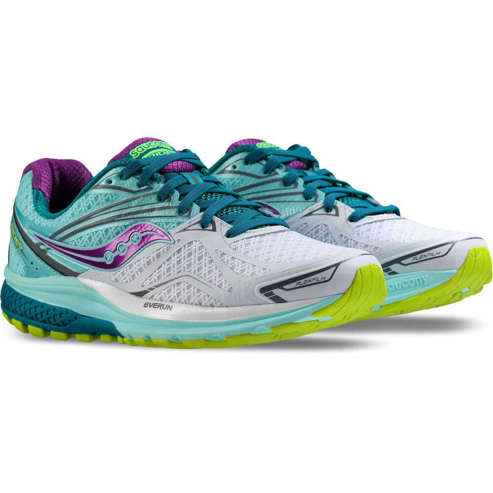 f2613e514870 Details about SAUCONY RIDE 9 WOMENS LADIES NEUTRAL RUNNING GYM TRAINERS  SPORTS SHOES 4 5 6