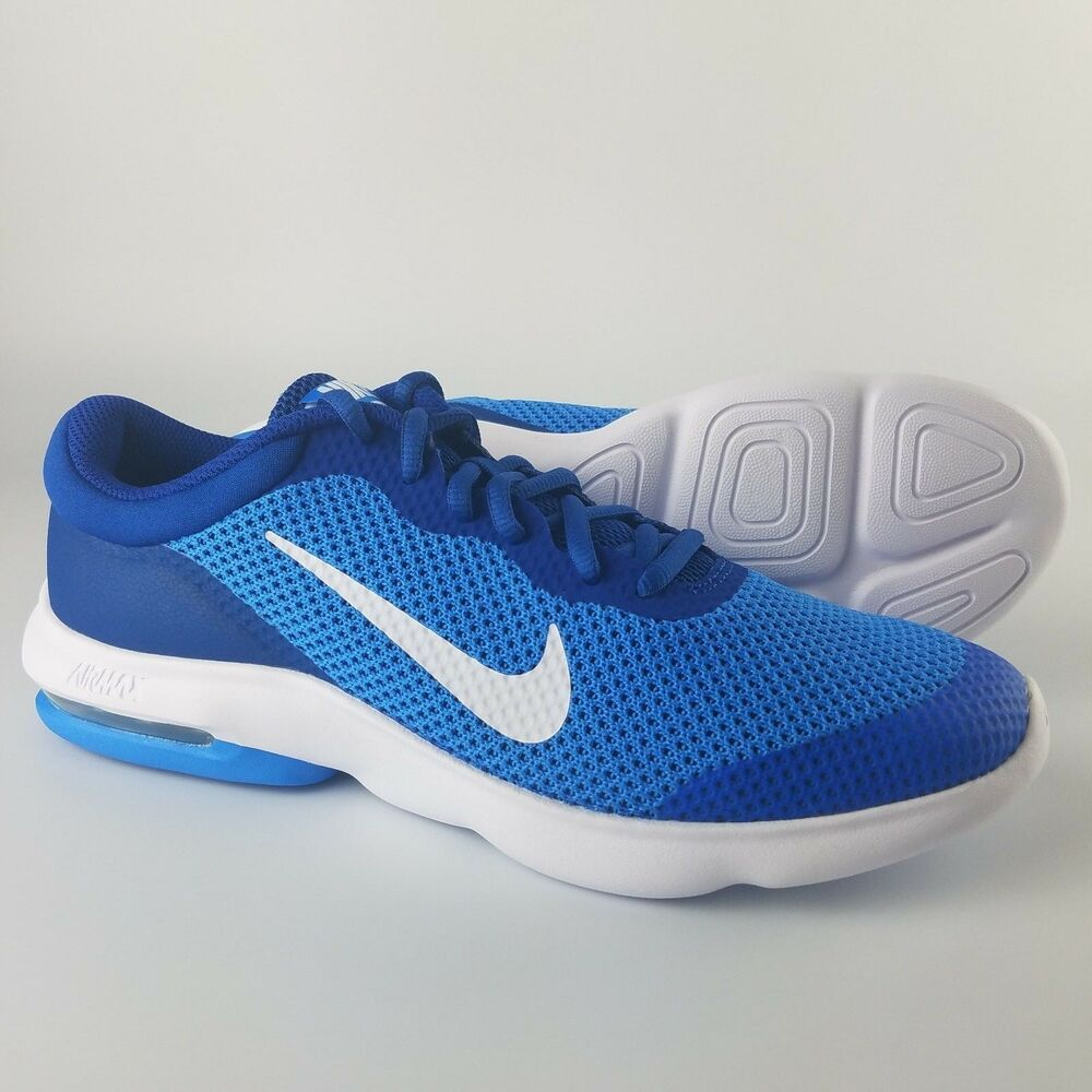 4b1e694fa61 Details about Nike Air Max Advantage GS Running Shoes NEW Youth Italy Blue  Gym Blue 884524-400