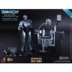 HOT TOYS 1/6 MMS 203 ROBOCOP with Mechanical Chair Collectible Figure (ON SALE)