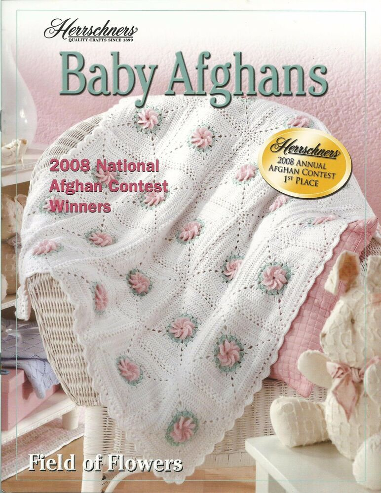 Baby Afghans 2008 Herrschners National Contest Crochet Instruction ...