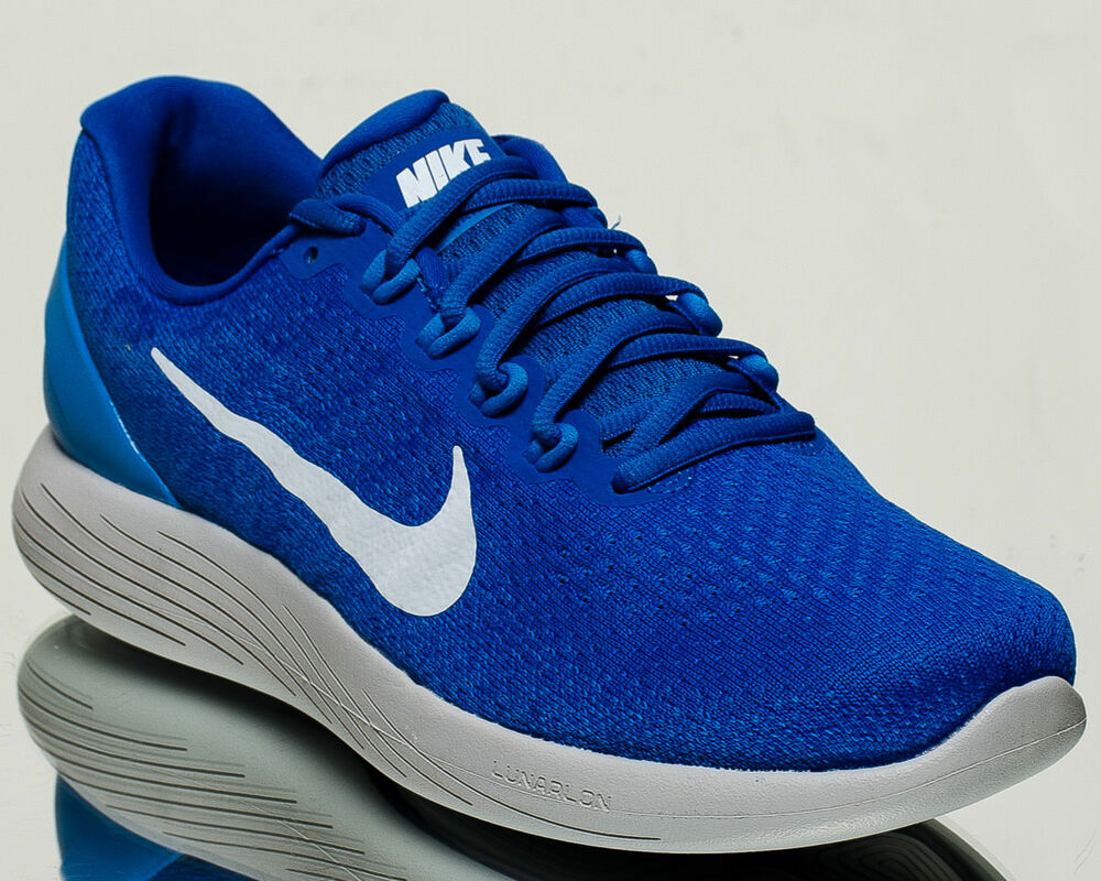 big sale 67d29 cd1aa Details about Nike LunarGlide 9 IX men running run shoes NEW hyper cobalt  blue tint 904715-405
