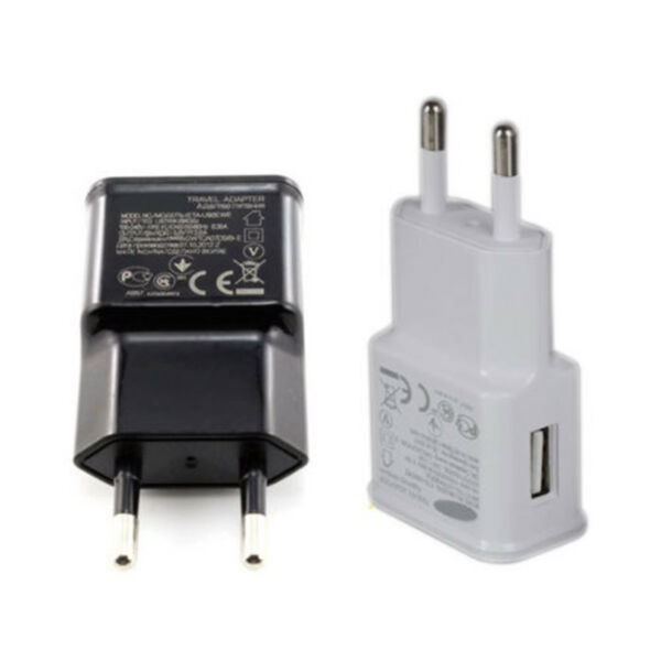 Universal 5V 2A EU Plug Phone Fast Charger Travel Charging Head Adapter