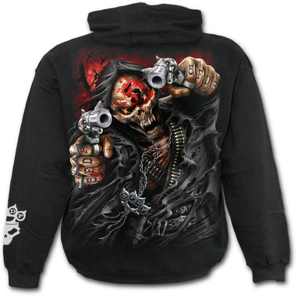 c022afbf579 Details about Spiral Direct 5FDP - ASSASSIN - Licensed Band Hoodie Five  Finger Death Punch