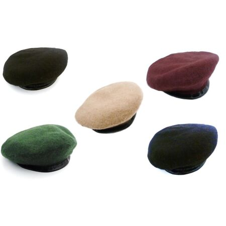img-GENUINE 100% WOOL ARMY BERETS 5 colours Mens & Ladies S-XL forces military caps