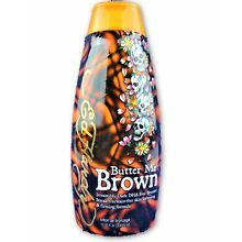 Ed Hardy Butter Me Brown Streak Free Bronzer Tanning Bed Lotion 10oz