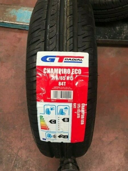 Pneumatici Gomme ESTIVE 175 65 15 84T   GT RADIAL CH ECO DOT 2016