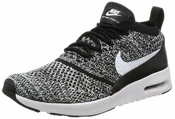93f4aa074d Details about NIKE WOMENS AIR MAX THEA ULTRA FLYKNIT BLACK/WHITE [881175 001 ]