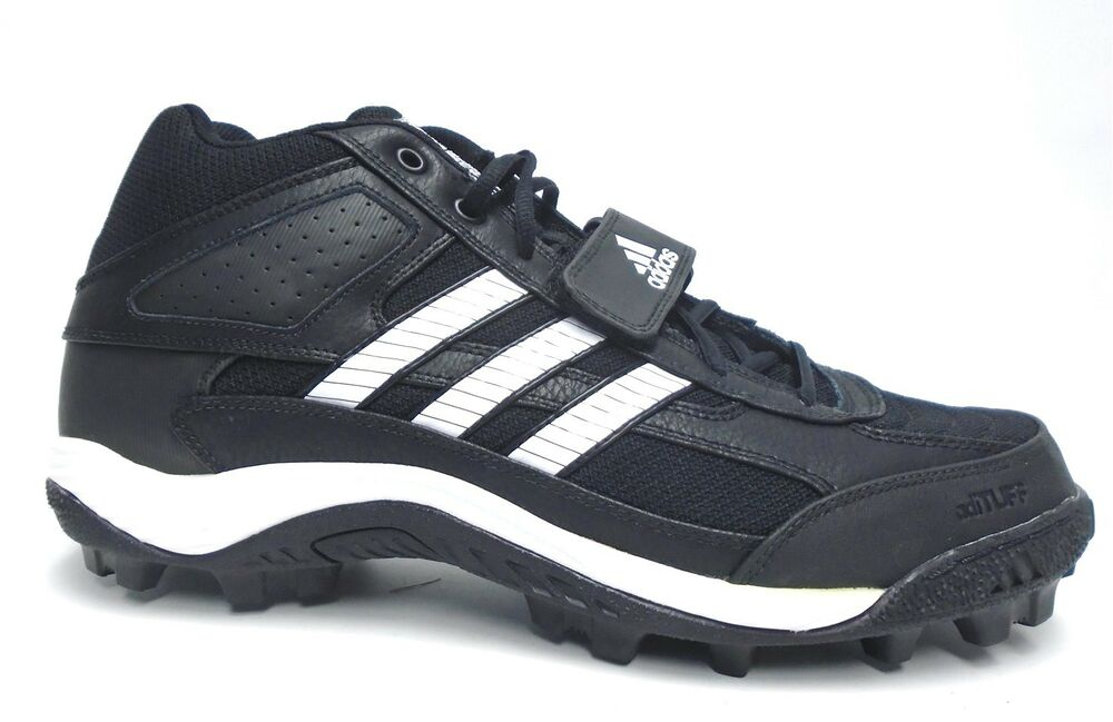 a6a0cddf256c Details about Adidas Corner Blitz 7 MD Black and White Football Cleats -  Size 12.5