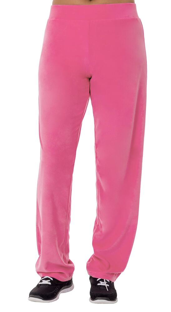4035001366 Details about Danskin Now Women's Velour Relaxed Fit Pant L New Pink Glow  Stick New Free Ship