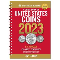 Kyпить New 2022 Official Red Book Redbook Guide Of US Coins Price List Catalog Spiral  на еВаy.соm