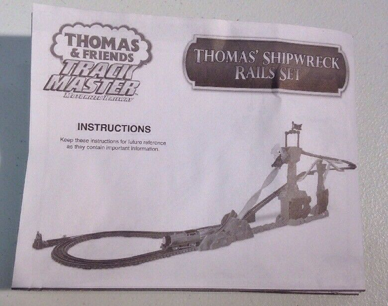 Thomas Friends Track Master Shipwreck Rails Replacement