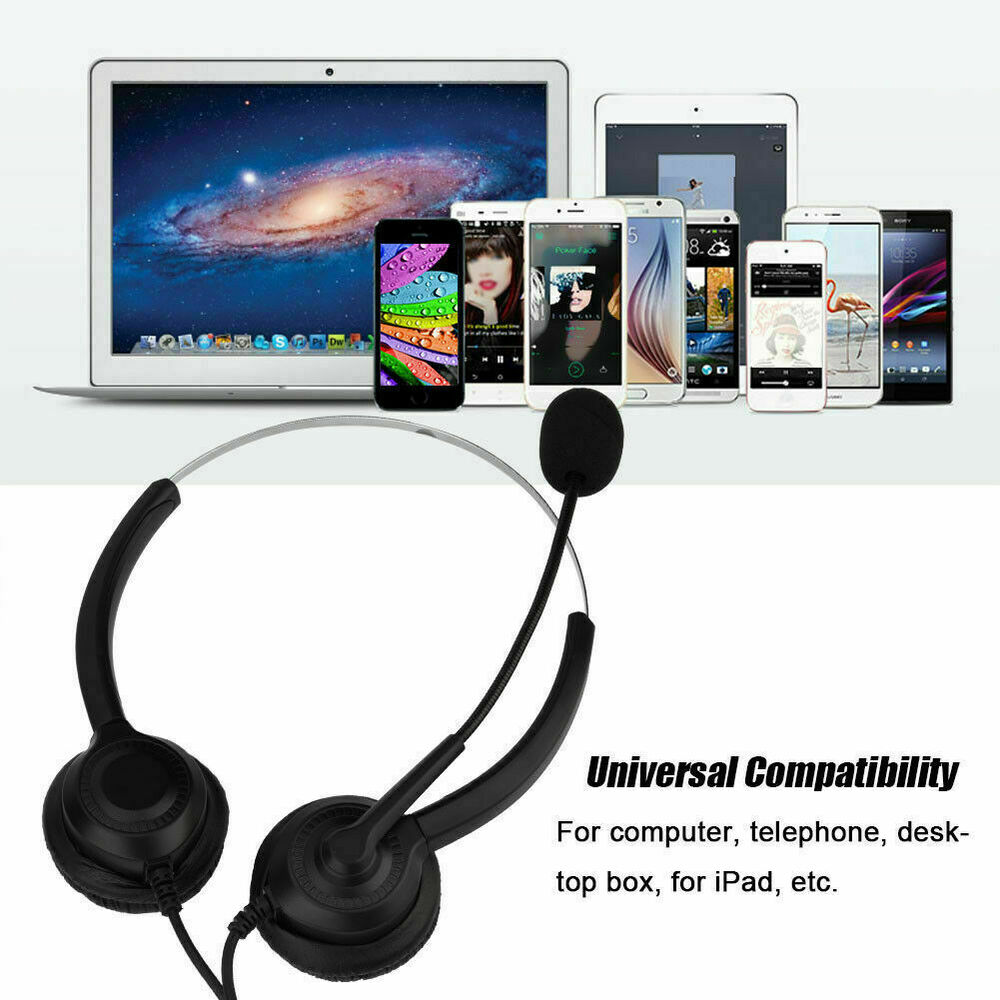 usb headset headphone noise cancelling call center with mic for AT&T Wireless Headsets for Telephones details about usb headset headphone noise cancelling call center with mic for skype puter l