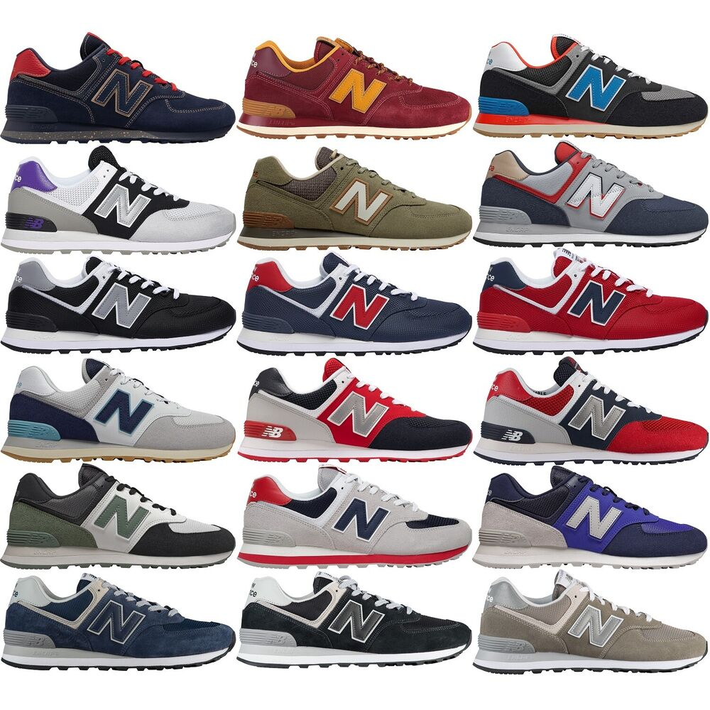 bc1004ab9 Details about NEW BALANCE 574 CLASSIC MEN'S RUNNING LIFESTYLE SHOES COMFY  CASUAL SNEAKERS