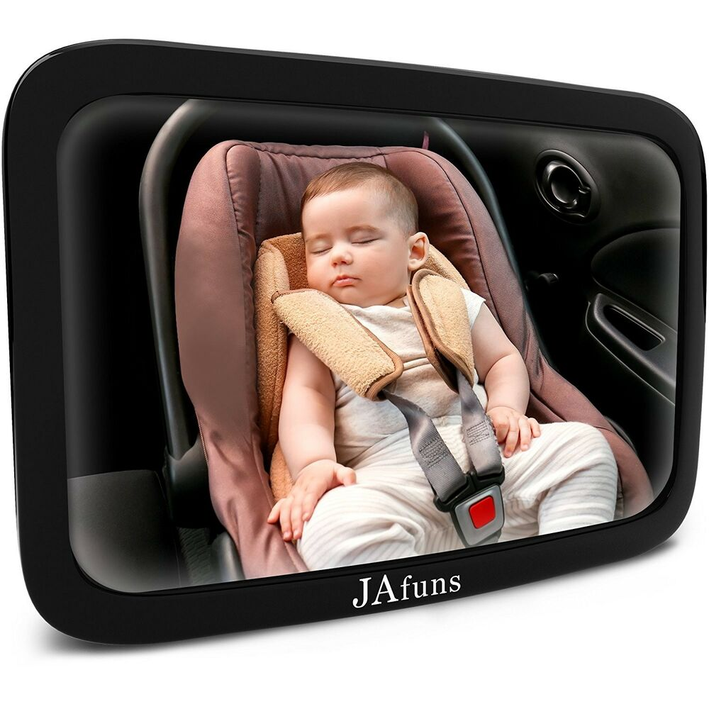 861a37783c7 Details about Baby Car Mirror Rear Facing for Backseat 360 Degree Rotation Baby  View New