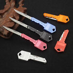Outdoor Mini Folding Knife Pocket Knives Keychain Survival Tool Camping EDC