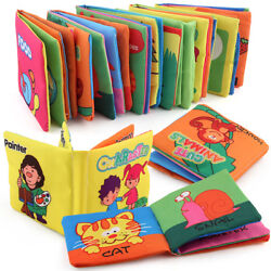 Kyпить Intelligence development Cloth Bed Cognize Book Educational Toy for Kid Baby New на еВаy.соm
