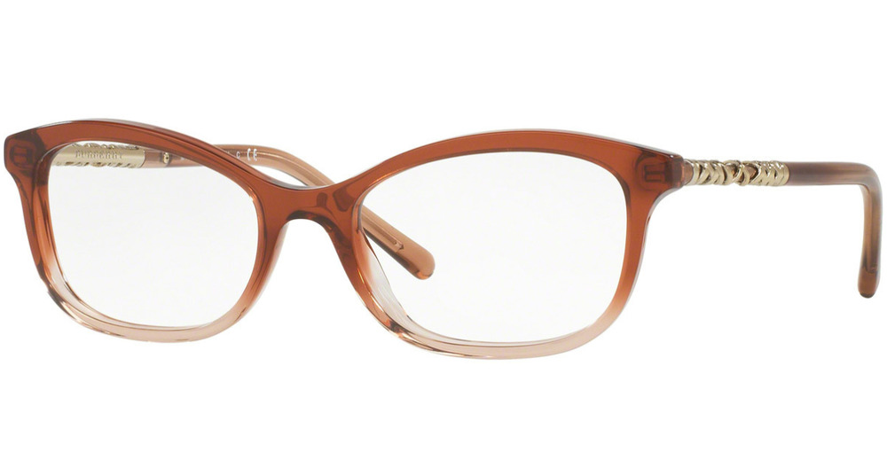 89447bc72e33 Authentic BURBERRY 2231 - 3608 Eyeglasses Brown Gradient Pink  NEW  52mm  8053672592313