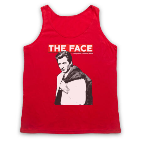 img-FACE THE A-TEAM FACEMAN UNOFFICIAL TEMPLETON PECK TV ADULTS VEST TANK TOP