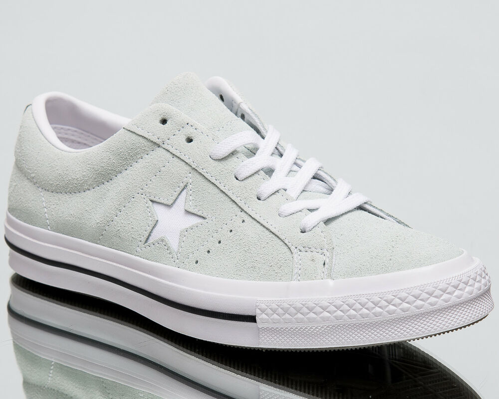 8e39767d09b6 Details about Converse One Star OX mens dried bamboo white black lifestyle  shoes 159493C