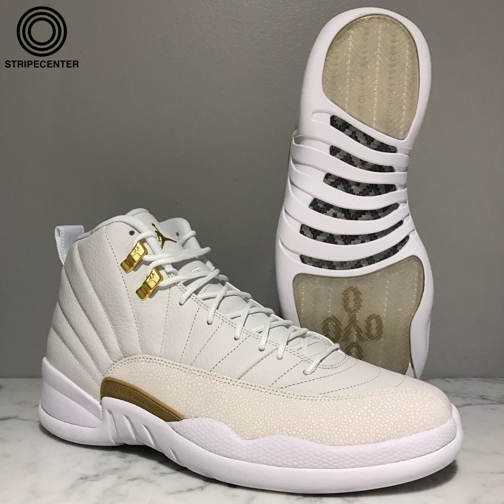 release date: bcdc5 19a15 Details about AIR JORDAN 12 RETRO  OVO  - WHITE METALLIC GOLD-WHITE -  873864-102