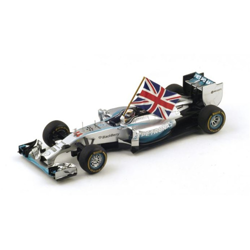 MERCEDES W05 L.HAMILTON 2014 N.44 WINNER ABU DHABI WORLD CHAMPION 1:18 Die Cast