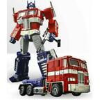 Transformers Alloy Edition MP10-V Optimus Prime Commander with flight backpack