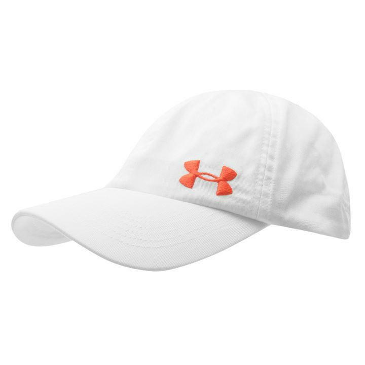 e6f5a0064fd Details about Under Armour UA Ladies Solid Cap Womens Heat Gear Cool White  D443-4