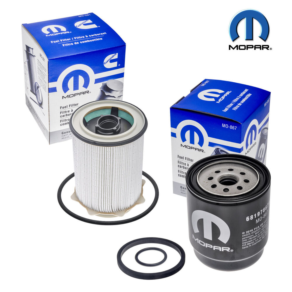 b93a68781 Details about Mopar Fuel Filter Kit 68157291AA 68197867AB For Ram 2500 3500  4500 5500 13-17