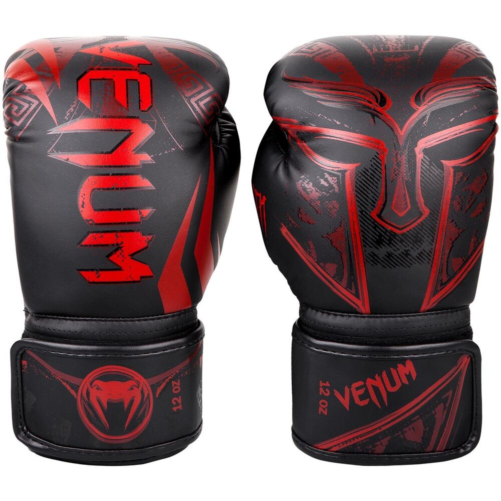 Venum Gladiator Boxing Gloves Red Sparring Muay Thai ...