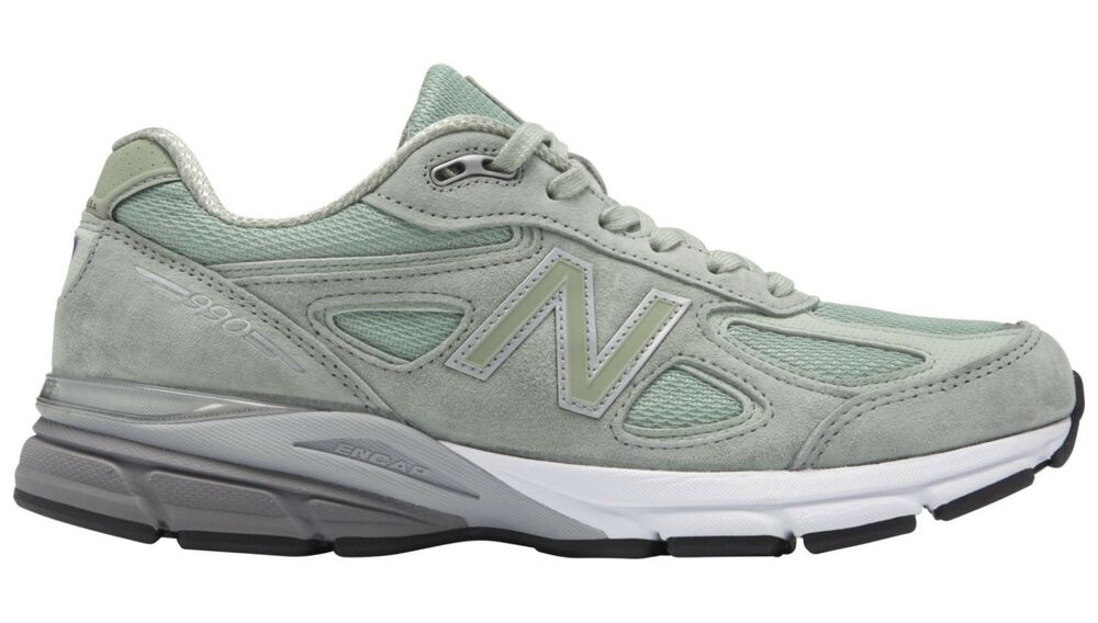 705510f927ea3 Details about NIB New Balance MENS M990SM4 990 SILVER MINT MADE IN USA  RUNNING SNEAKERS 8-13