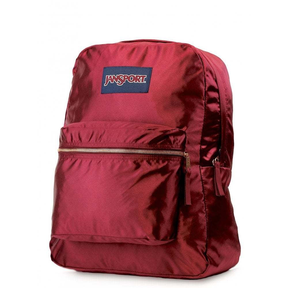 39cf88d045b1 Details about JANSPORT High Stakes Backpack - Russet Red Rose Gold  Schoolbag JS0A3C4W50C