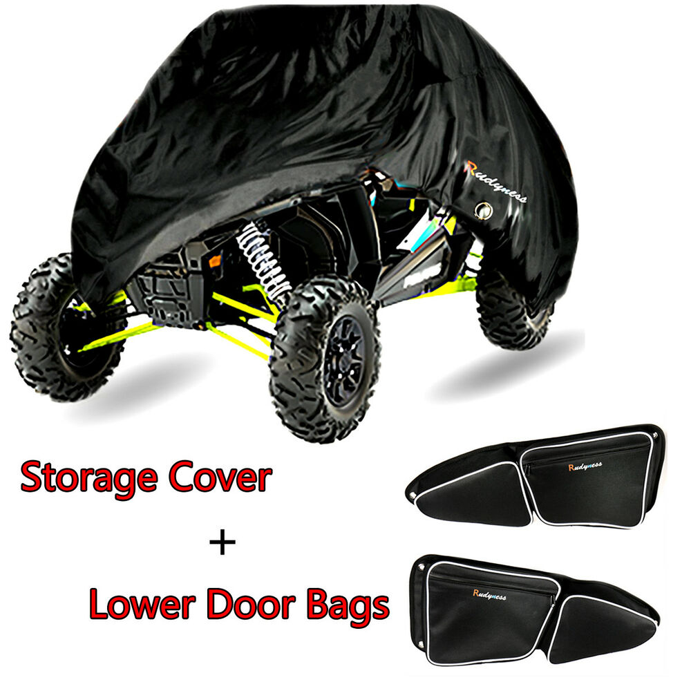 Details About Storage Cover Door Bag With Knee Pad For Polaris 2017 Rzr Xp 1000 900 S