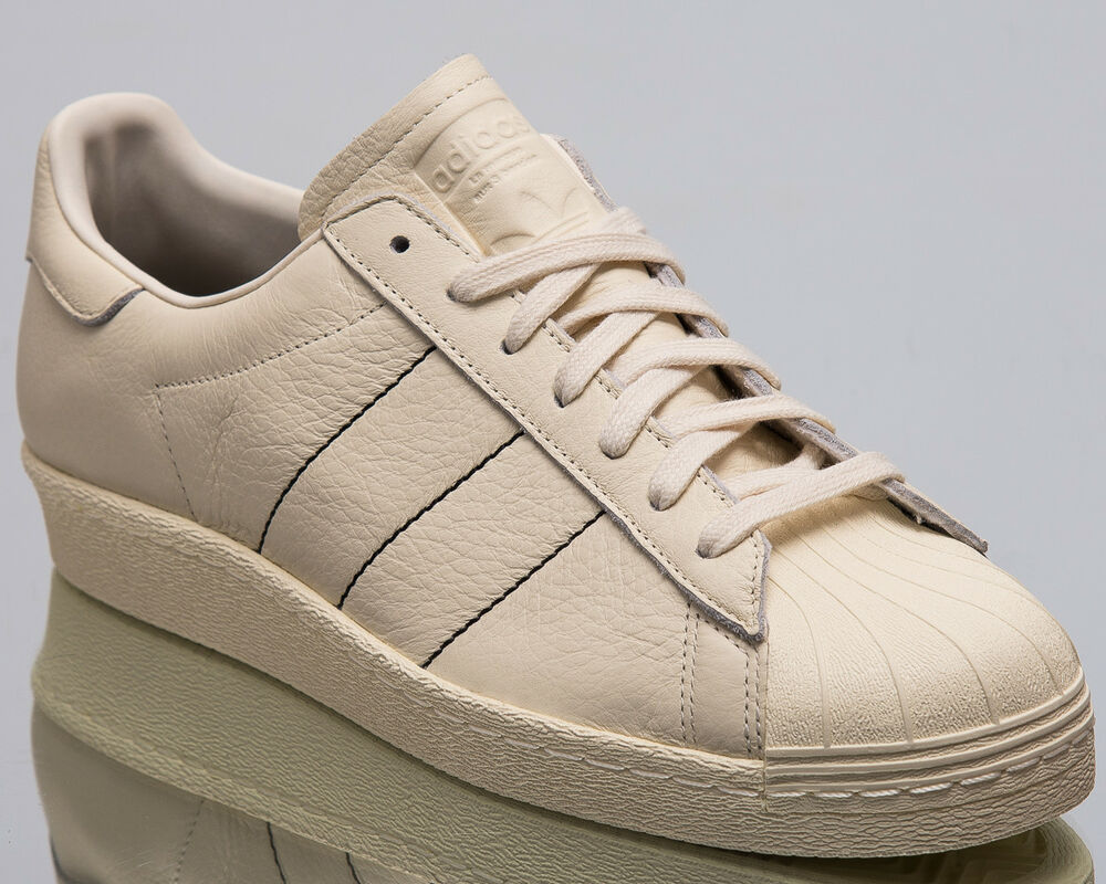 13685b0284a Details about adidas Originals Superstar 80s Men New Sneakers Mens Chalk  White Shoes B38000