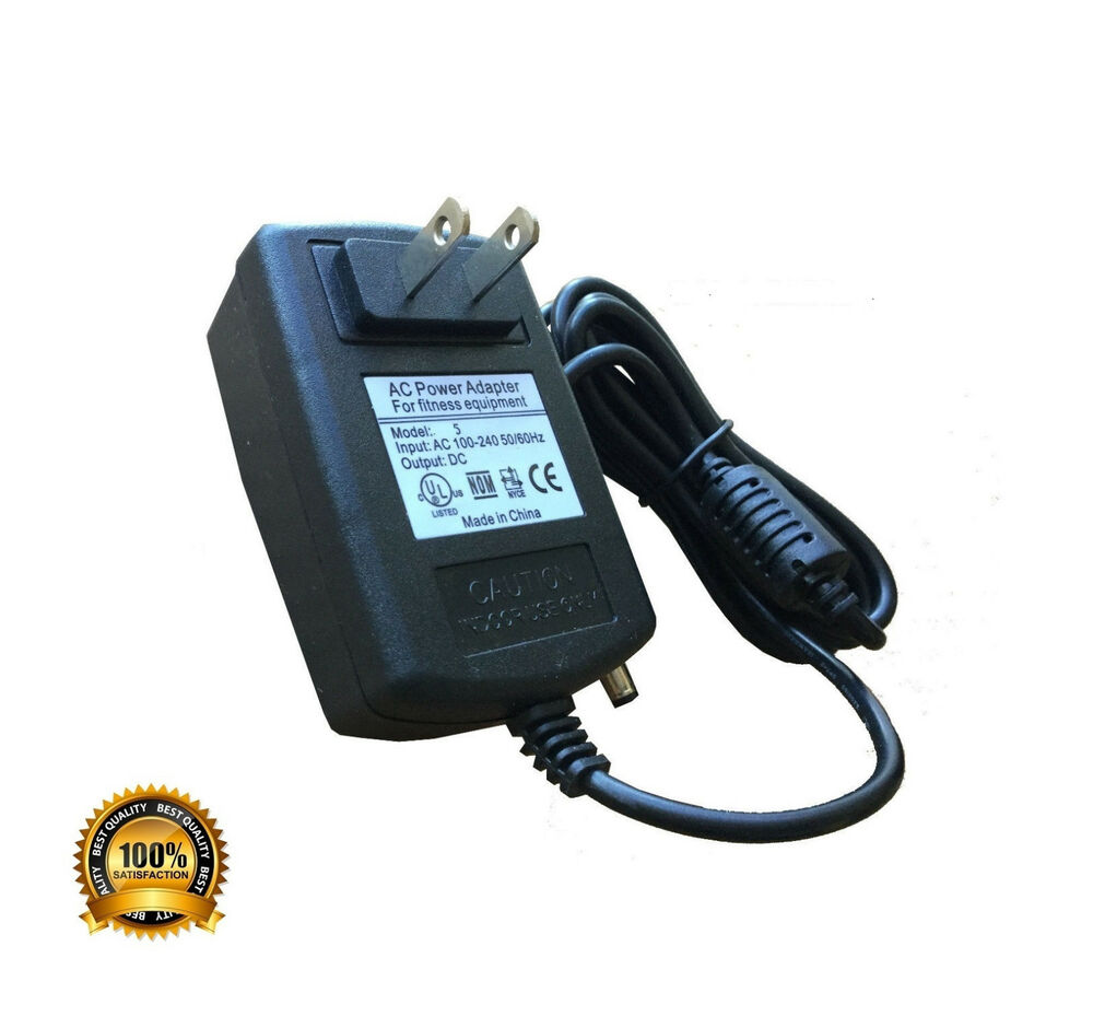 True Z5 Elliptical Power Cord: AC Power Adapter For Horizon Fitness HZ Premium Series