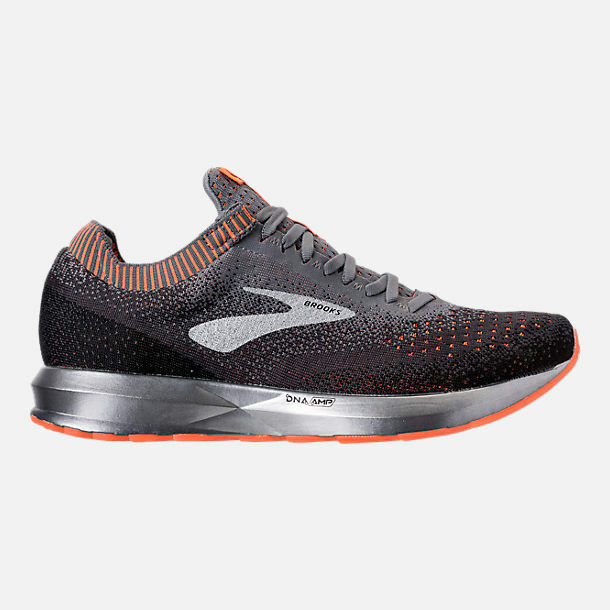 6020f28f104f5 Details about MEN S BROOKS LEVITATE 2 GREY BLACK ORANGE RUNNING SHOES MEN S  SELECT YOUR SIZE