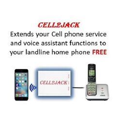 Kyпить Cell2Jack - Cellphone to Home Phone Adapter. Avoid Harmful Cell Signal radiation на еВаy.соm