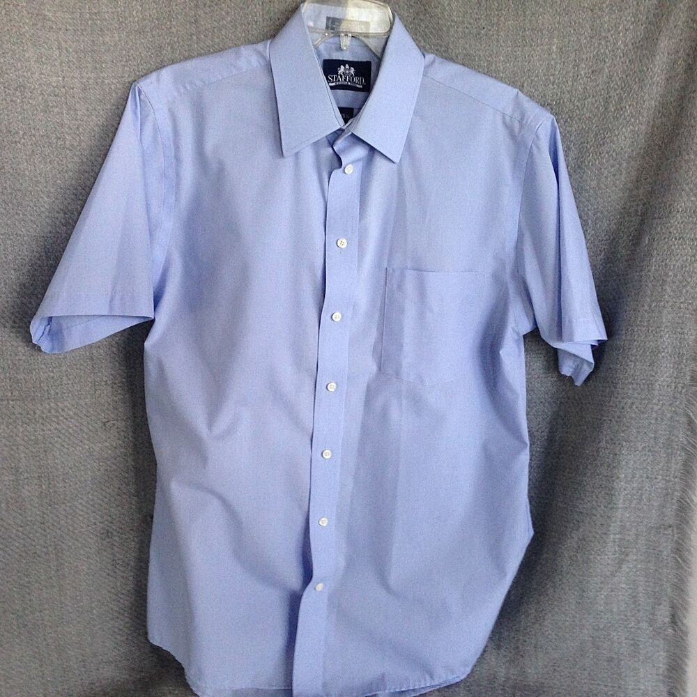 Mens Stafford Dress Shirts