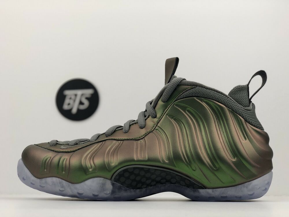 """a319a1336ec Details about Women s Nike Air Foamposite One """"Dark Stucco"""" Size-8 Green  Grey (AA3963 001)"""
