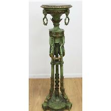 1 - Exquisite Tall French Pedestal Fern Stand Lamp Table 52
