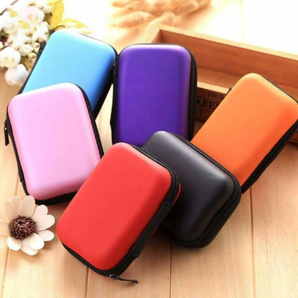 12CM Case For USB External HDD Hard Disk Drive Protect Bag Carry Cover Pouch!