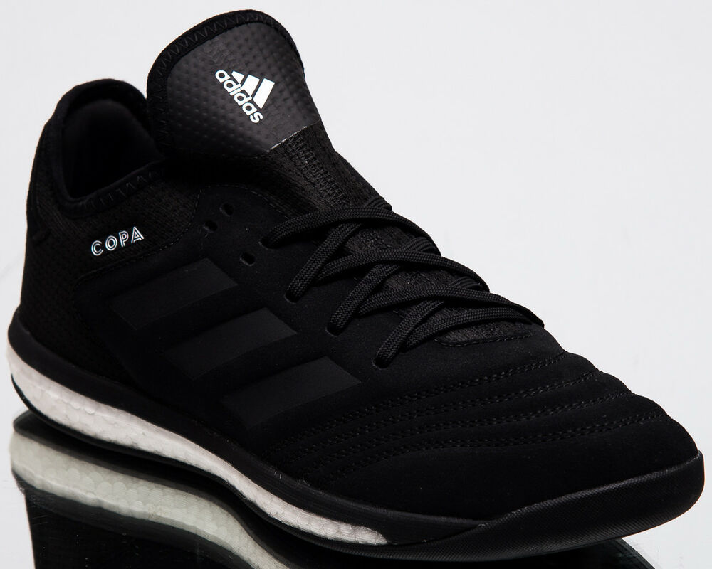 cheap for discount 194ce 239d8 Details about adidas Copa Tango 18.1 Trainers Men New Black White Lifestyle  Sneakers BB7518
