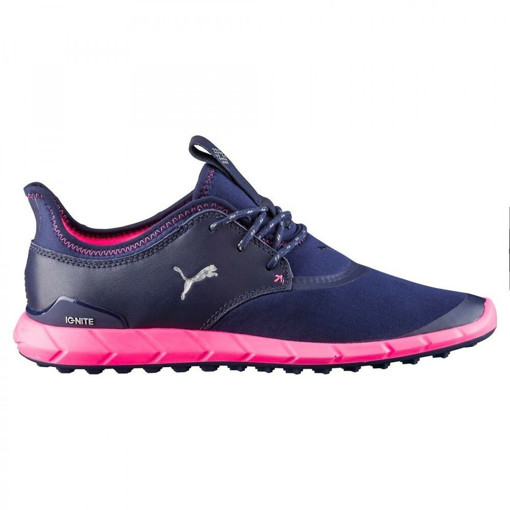 Details about NEW WOMEN S PUMA IGNITE SPIKELESS SPORT GOLF SHOES NAVY  189422-03 - PICK A SIZE f4a2b8d9f