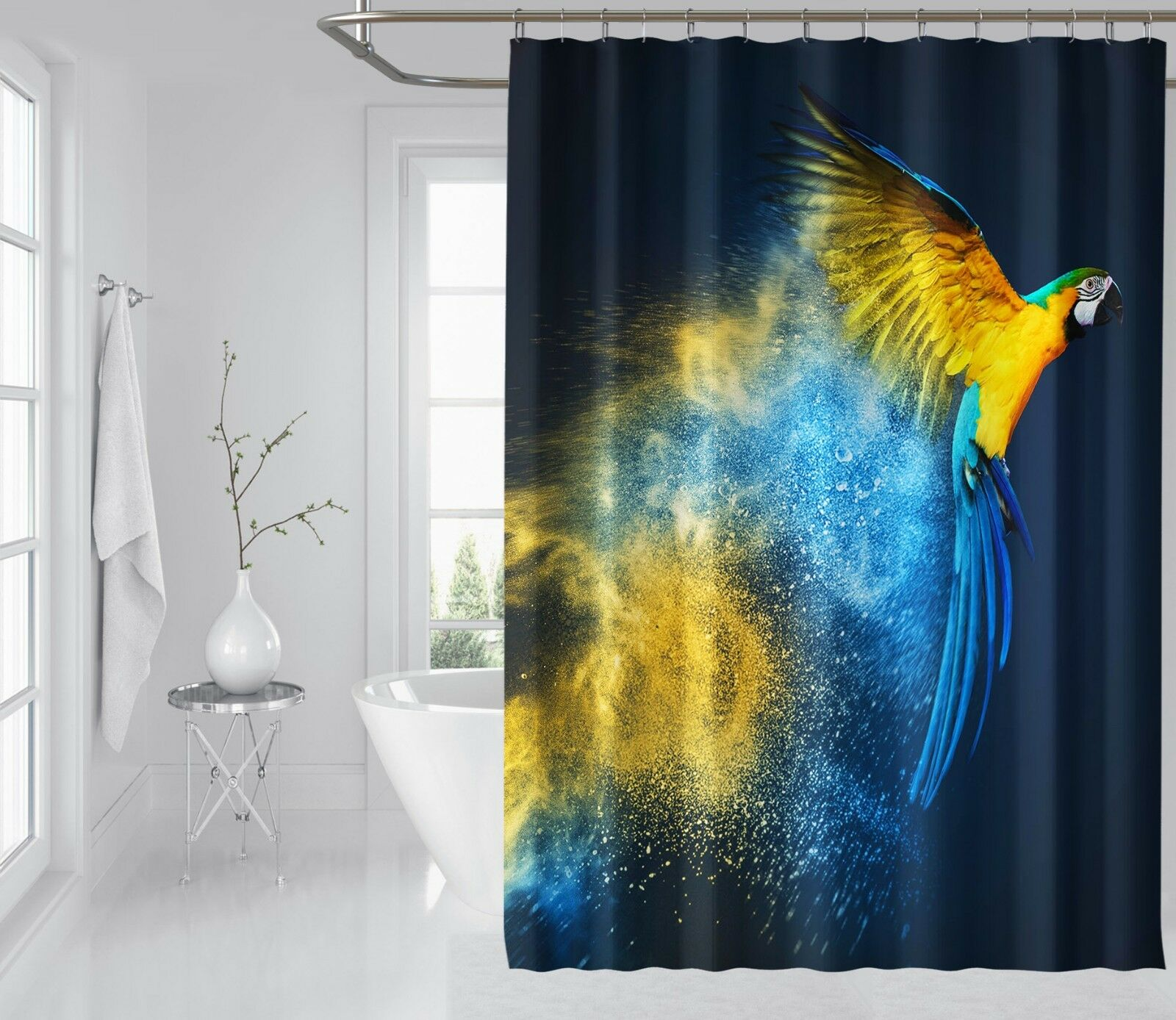 Home & Garden 3d Delphin Höhle 78 Duschvorhang Wasserdicht Faser Bad Daheim Windows Toilette Buy One Get One Free