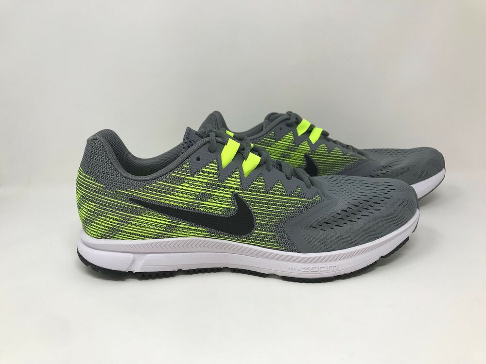 f8866da31e3 New! Men s Nike 908990-007 Zoom Span 2 Running Shoes - Gray Yellow ...