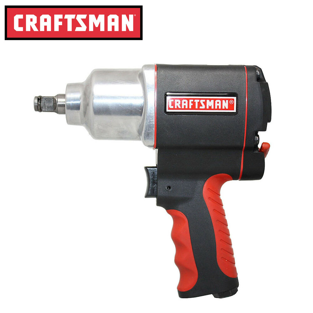 Details About Craftsman Impact Wrench 1 2 In Air Tool Gun Portable High Torque Pistol New