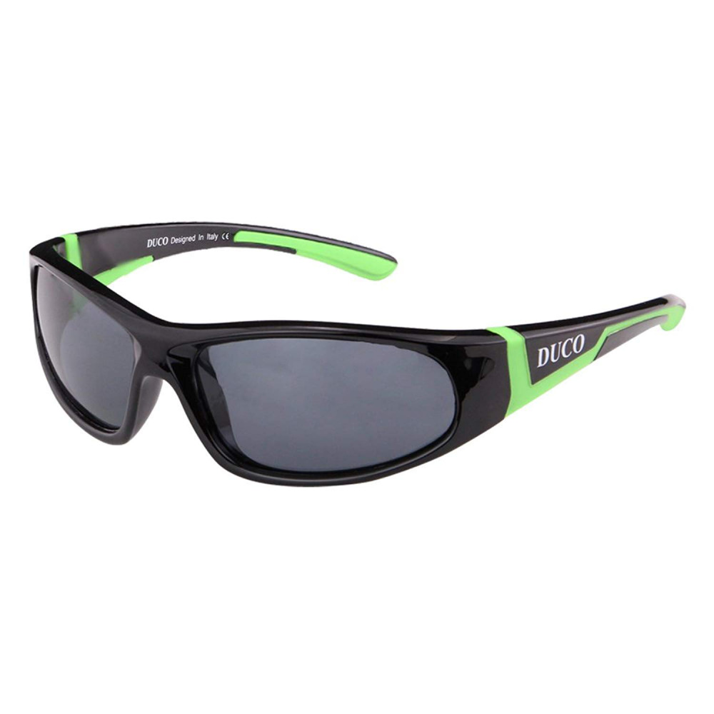 892603c5df72 Details about Duco Kids Sports Polarized Sunglasses Rubber Flexible Frame  For Boys And Girls