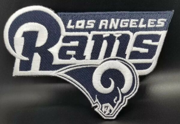Los Angels Rams Embroidered Logo~Iron On Patch~Free Shipping from the U.S.A.~
