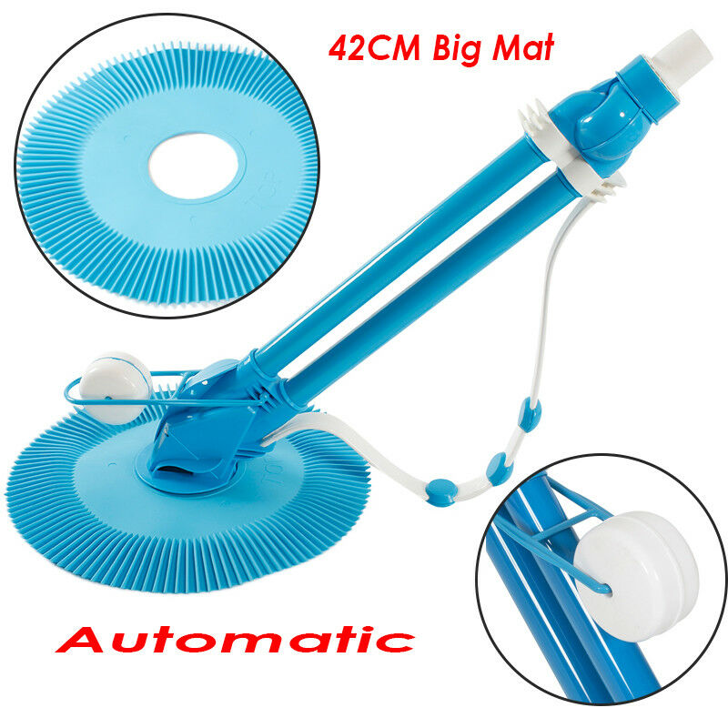 Automatic Swimming Pool Vacuum Cleaner Inground Above Ground + 10pcs ...
